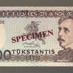 1000 litų istorija